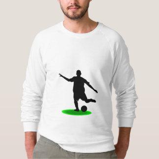 サッカーの選手 スウェットシャツ