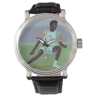 サッカーの選手 腕時計