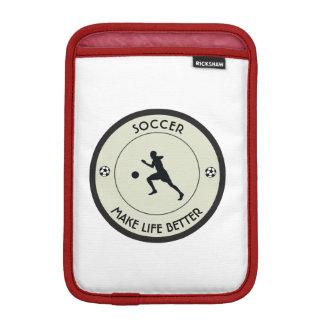 サッカーの選手 iPad MINIスリーブ