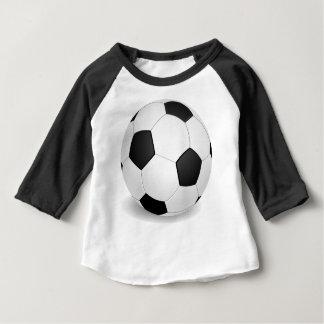 サッカーのbabys ベビーTシャツ