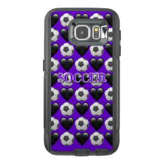 サッカーのEmoji Samsungの銀河系S6のオッターボックスの場合 オッターボックスSamsung Galaxy S6ケース