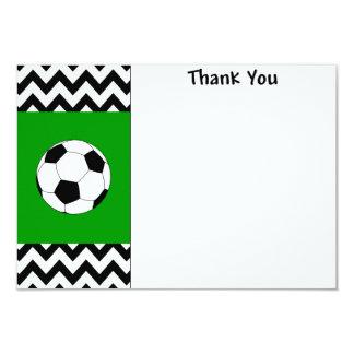 サッカーはメッセージカード感謝していしています カード