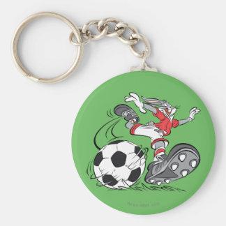 サッカーを遊ぶバッグス・バニーの™ キーホルダー