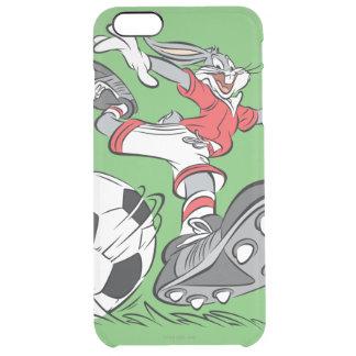 サッカーを遊ぶバッグス・バニーの™ クリア iPhone 6 PLUSケース