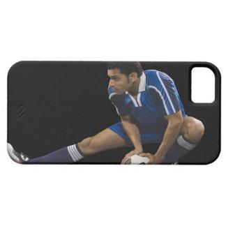 サッカーを遊んでいる人 iPhone SE/5/5s ケース