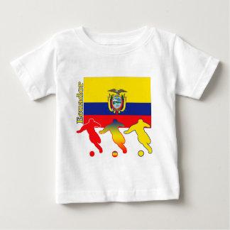 サッカーエクアドル ベビーTシャツ