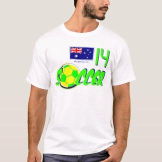 サッカーオーストラリア Tシャツ