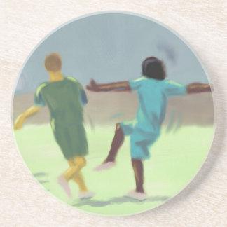 サッカーゲーム、コースター コースター