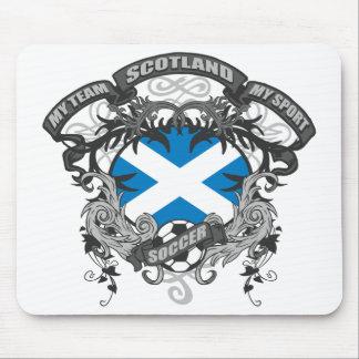 サッカースコットランド マウスパッド