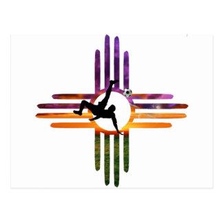 サッカーニューメキシコ ポストカード