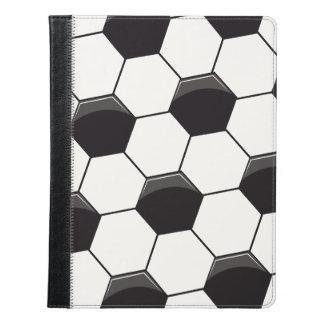 サッカーパターン iPadケース