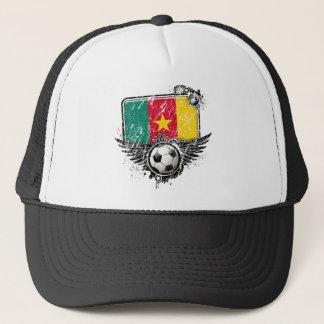サッカーファンカメルーン キャップ