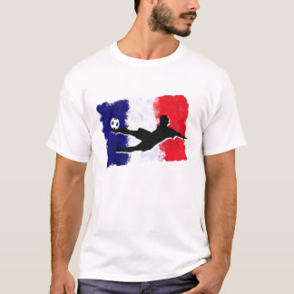 サッカーフランス Tシャツ