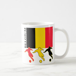 サッカーベルギー コーヒーマグカップ