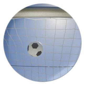 サッカーボールおよびゴール2 プレート