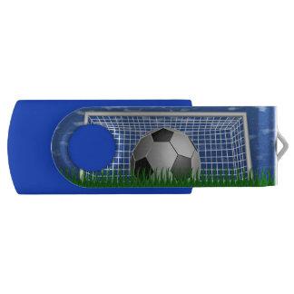 サッカーボールおよび網 USBフラッシュドライブ