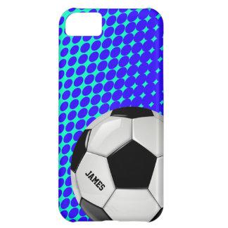 サッカーボールのカスタムなiPhone 5の場合 iPhone5Cケース