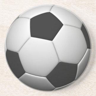 サッカーボールのコースター コースター