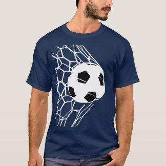 サッカーボールのゴールメンズティー2 Tシャツ
