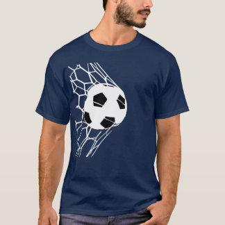 サッカーボールのゴールメンズティー56 Tシャツ