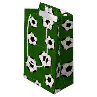 サッカーボールのスポーツパターンパーティーのバッグ スモールペーパーバッグ