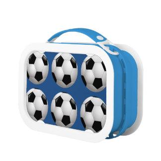 サッカーボールのスポーツ ランチボックス