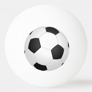 サッカーボールのフットボールのイラストレーションのピンポン球 卓球ボール