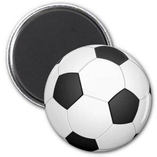 サッカーボールのフットボールのイラストレーションの磁石 マグネット