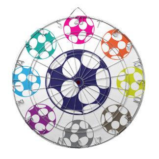 サッカーボールのベクトル ダーツボード