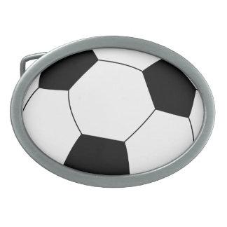 サッカーボールのベルトの留め金 卵形バックル