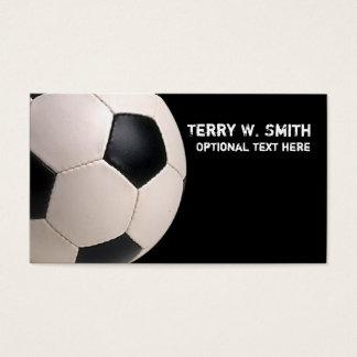 サッカーボールの名刺 名刺