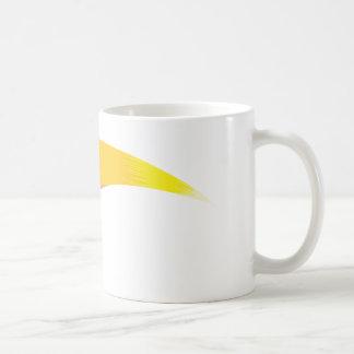 サッカーボールの彗星 コーヒーマグカップ