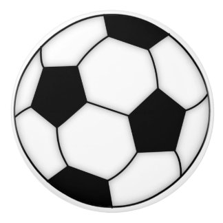 サッカーボールの磁器のノブ セラミックノブ