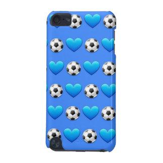 サッカーボールのiPod青い5の箱 iPod Touch 5G ケース