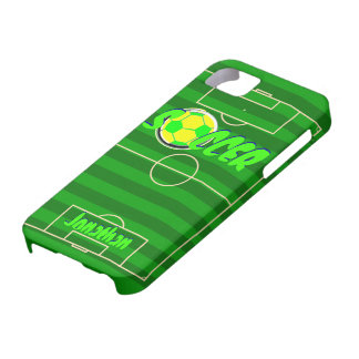 サッカーボールカスタマイズ可能な一流のジョナサン iPhone SE/5/5s ケース