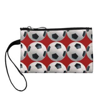サッカーボールパターン コインパース