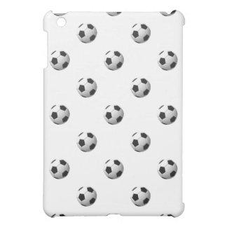 サッカーボールパターン: iPad MINIケース