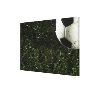 サッカーボール キャンバスプリント