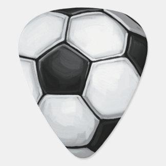 サッカーボール ギターピック