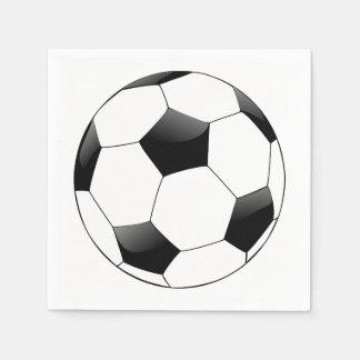 サッカーボール スタンダードカクテルナプキン