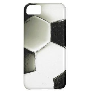 サッカーボール-フットボールのiPhone 5cケース iPhone5Cケース