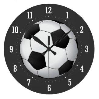 サッカーボール(フットボール) -柱時計