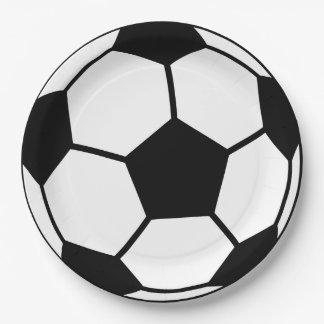 サッカーボール ペーパープレート