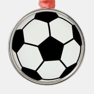 サッカーボール メタルオーナメント