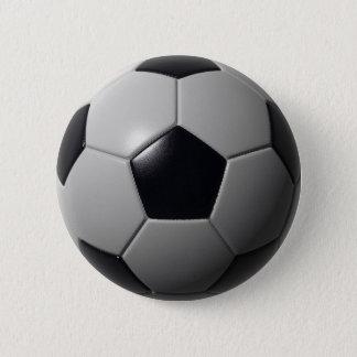 サッカーボール 缶バッジ