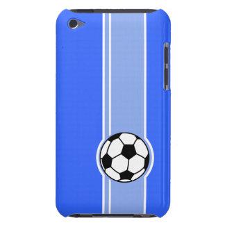 サッカーボール; 青い Case-Mate iPod TOUCH ケース