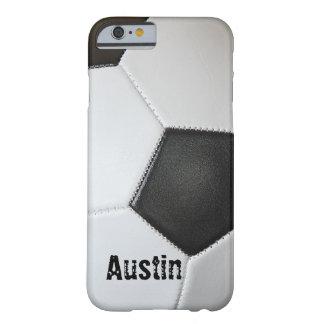 サッカーボール BARELY THERE iPhone 6 ケース