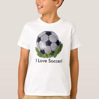 サッカーボール Tシャツ