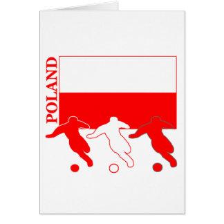 サッカーポーランド カード