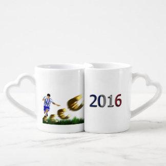 サッカーヨーロッパ選手権のユーロ2016のグループA ペアカップ